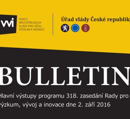 Nový bulletin RVVI