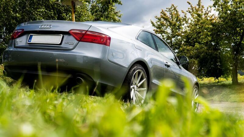car-grass-parking